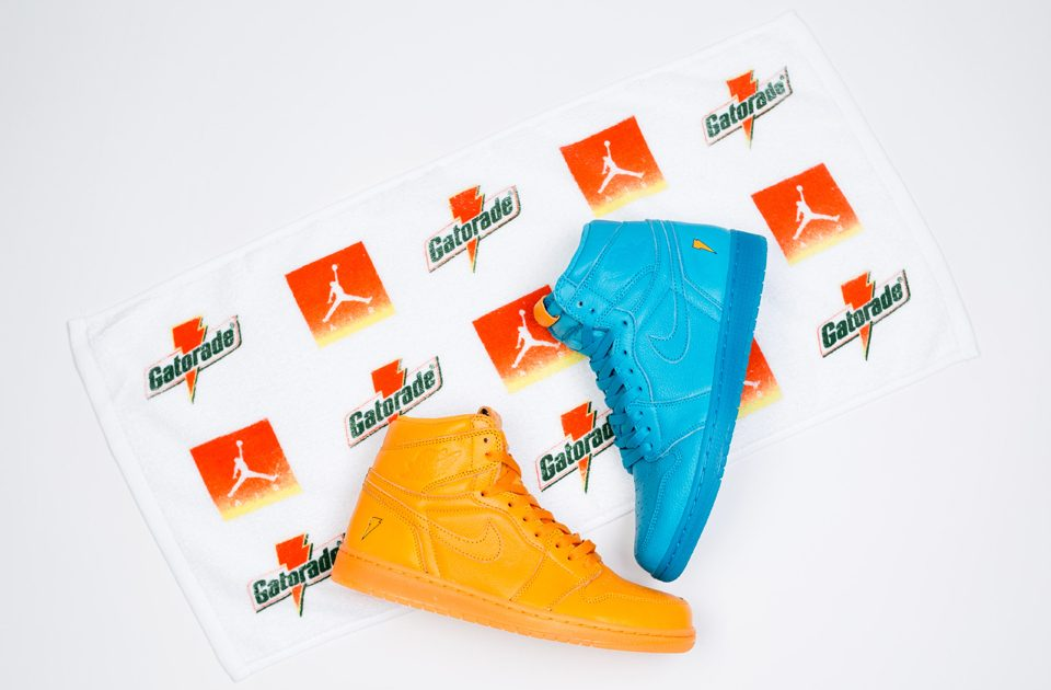 The Air Jordan 1 High Gatorade