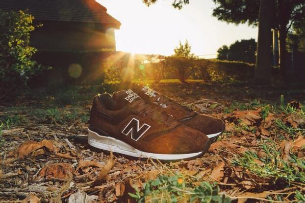 NEW BALANCE ML997DBR AUTHOR'S COLLECTION