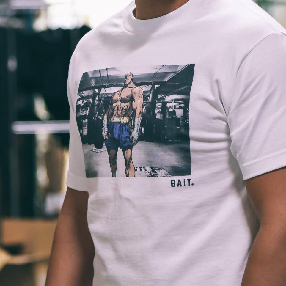 BAIT x STREET FIGHTER LIMITED EDITION SNAPSHOT TEES