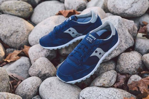SAUCONY JAZZ LOW PRO – BLUE/GREY