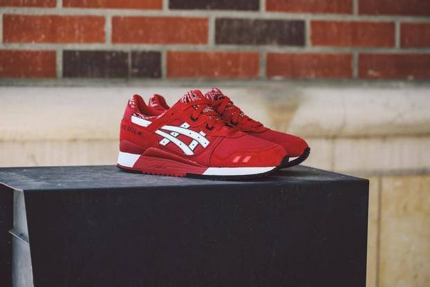 "ASICS GEL LYTE III ""RED BANDANA"""