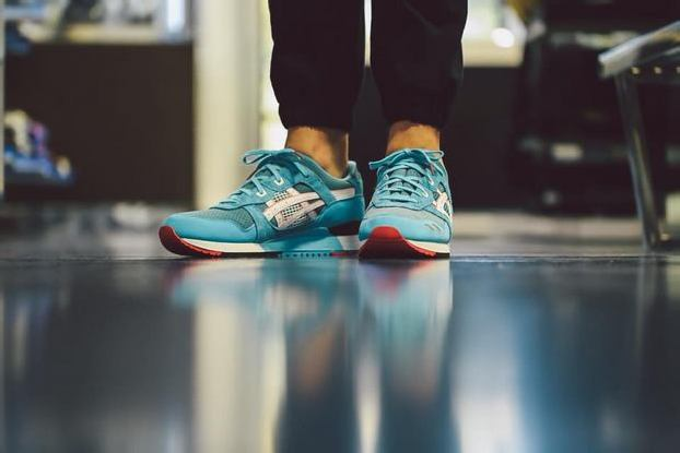 """ASICS GEL LYTE III """"TEAL DRAGON"""" RE-ISSUE by BAIT – Online Raffle + In-Store Reservations"""