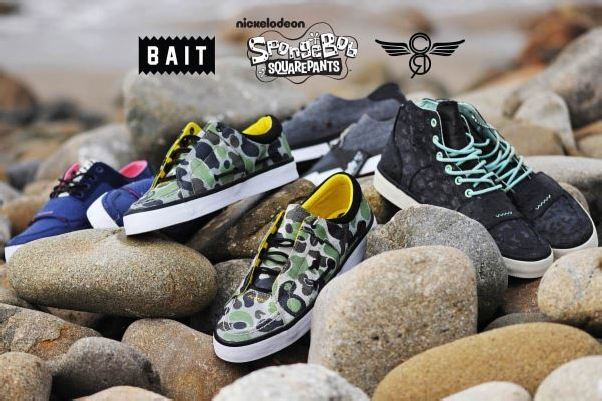 BAIT x SpongeBob x Creative Recreation Footwear Collection – Now Available