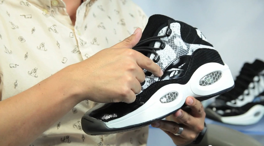 "Origin of the Snake: Behind the BAIT x Reebok ""Snake"" Question Mid [VIDEO]"