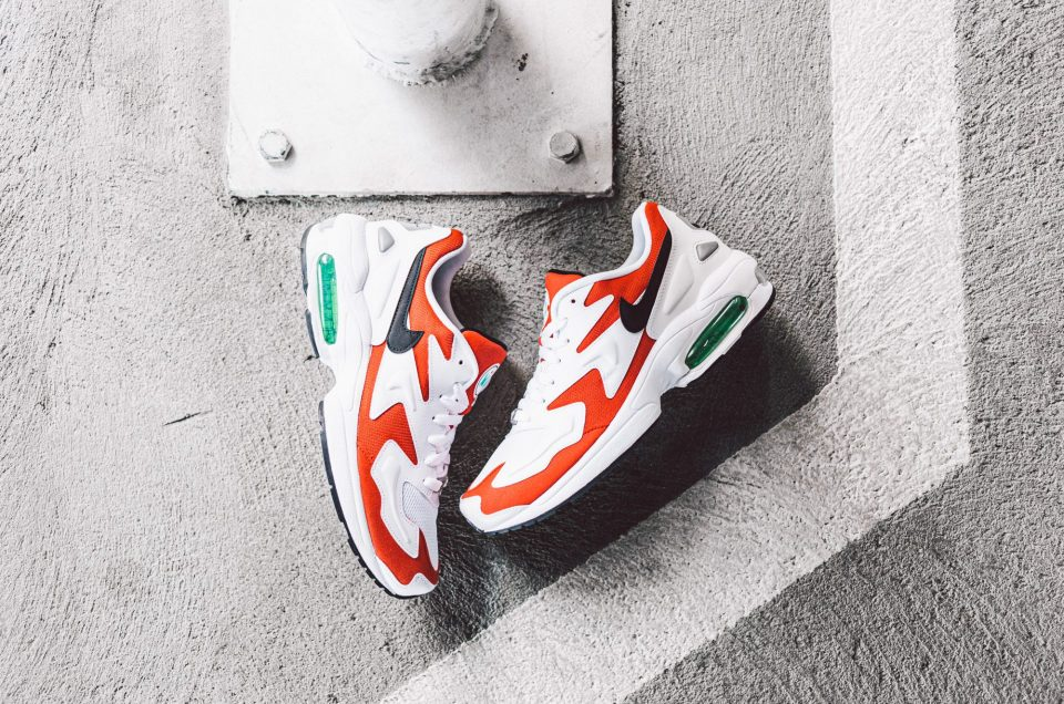 Nike Air Max2 Light - Habanero Red