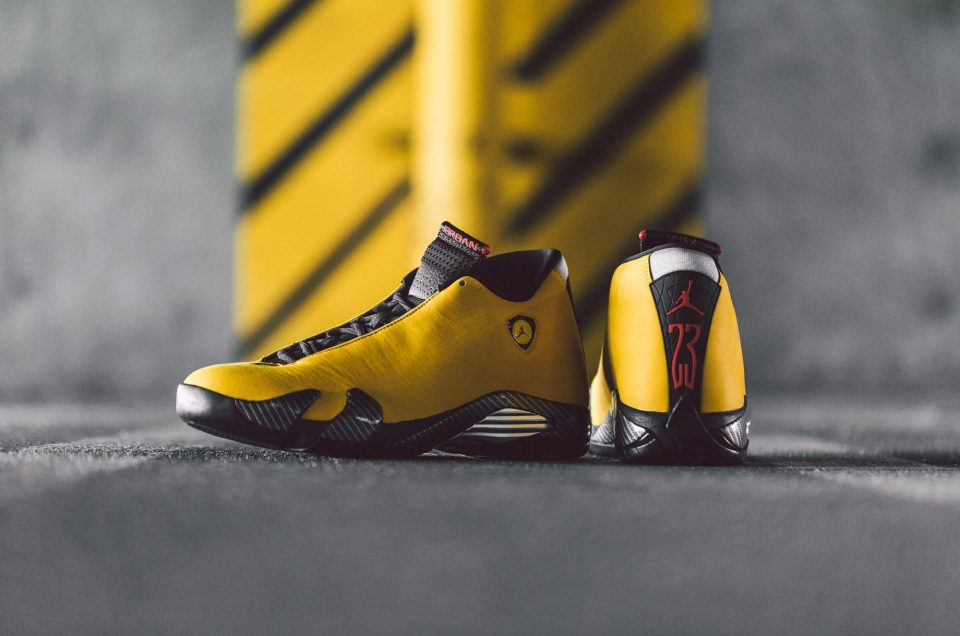 Air Jordan XIV - Yellow Ferrari