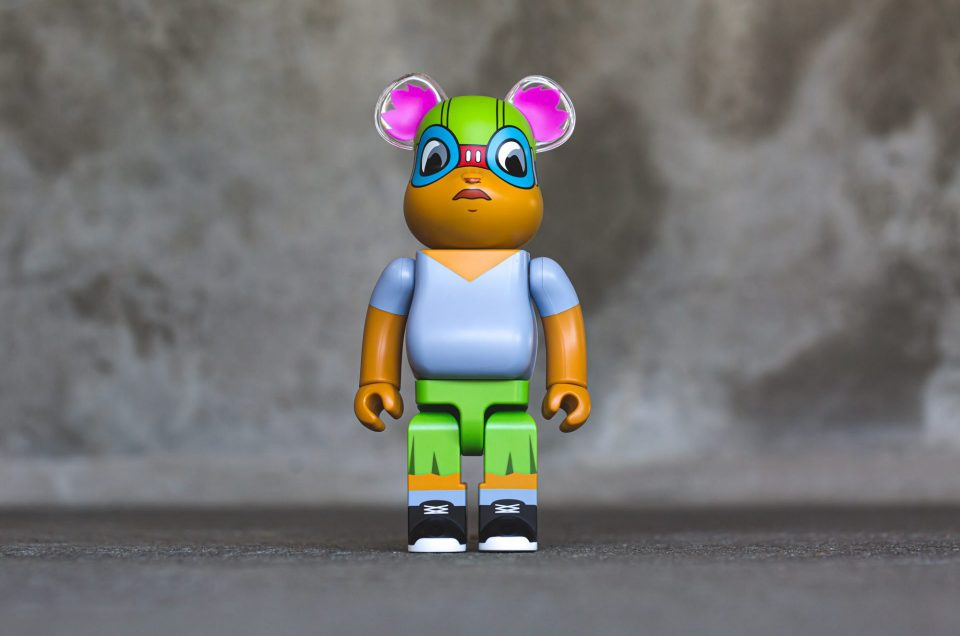 Medicom x Hebru Brantley – Lil Mama 400% Bearbrick
