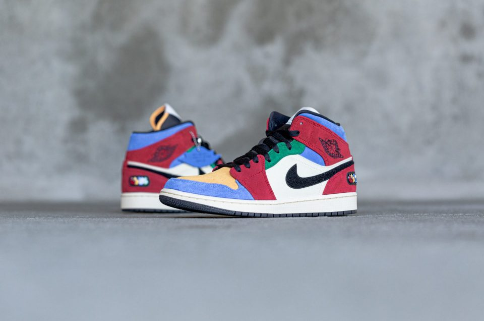 The Air Jordan 1 Mid Fearless – Blue the Great