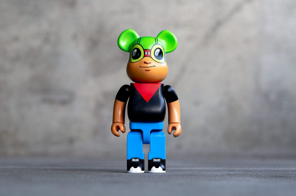 Medicom x Hebru Brantley Fly Boy 400% Bearbrick