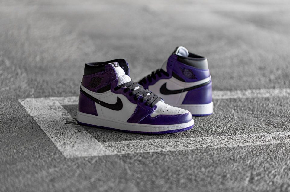 Air Jordan 1 - Court Purple