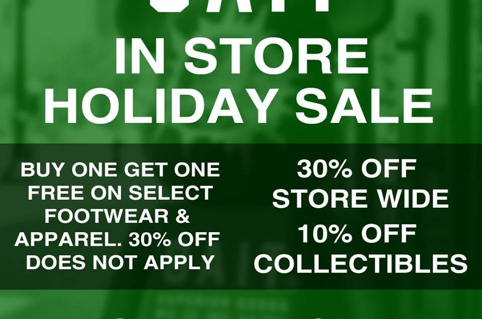 BAIT Holiday Sale in Store!