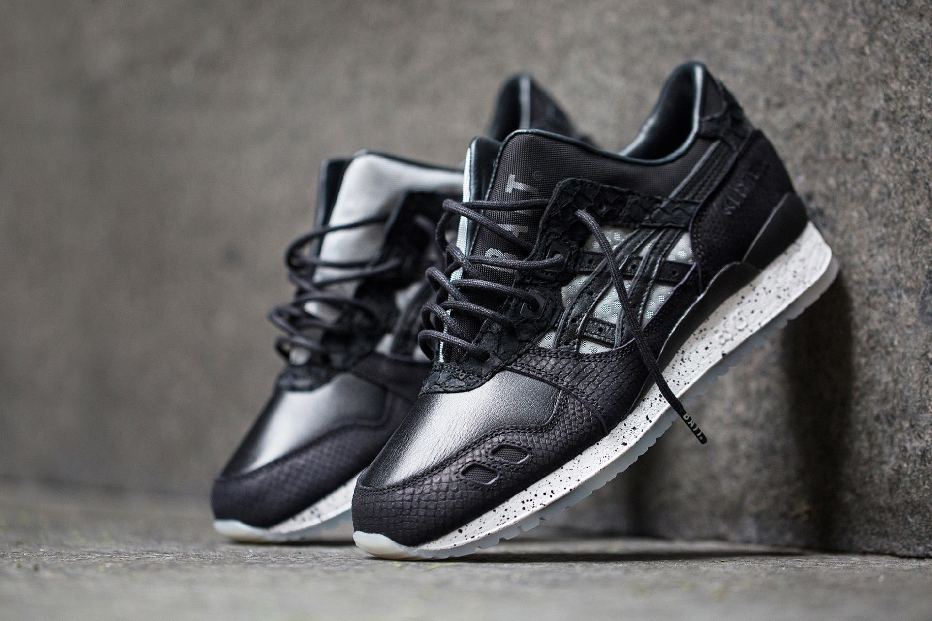 "The BAIT x Asics Tiger 25th Anniversary Model-004 ""Nightmare"" Live Raffle"
