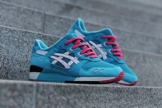 """ASICS GEL LYTE III """"TEAL DRAGON"""" EXCLUSIVE GLOBAL RE-ISSUE by BAIT"""