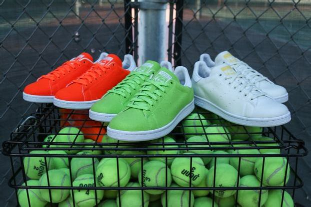 "separation shoes adbed 2cd86 PHARRELL WILLIAMS x adidas ORIGINALS STAN SMITH ""TENNIS PACK II"""
