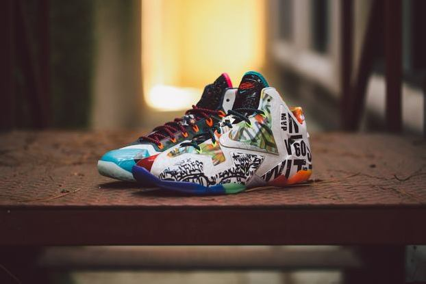 "separation shoes a755a a9d0f NIKE LEBRON 11 ""WHAT THE LEBRON"""