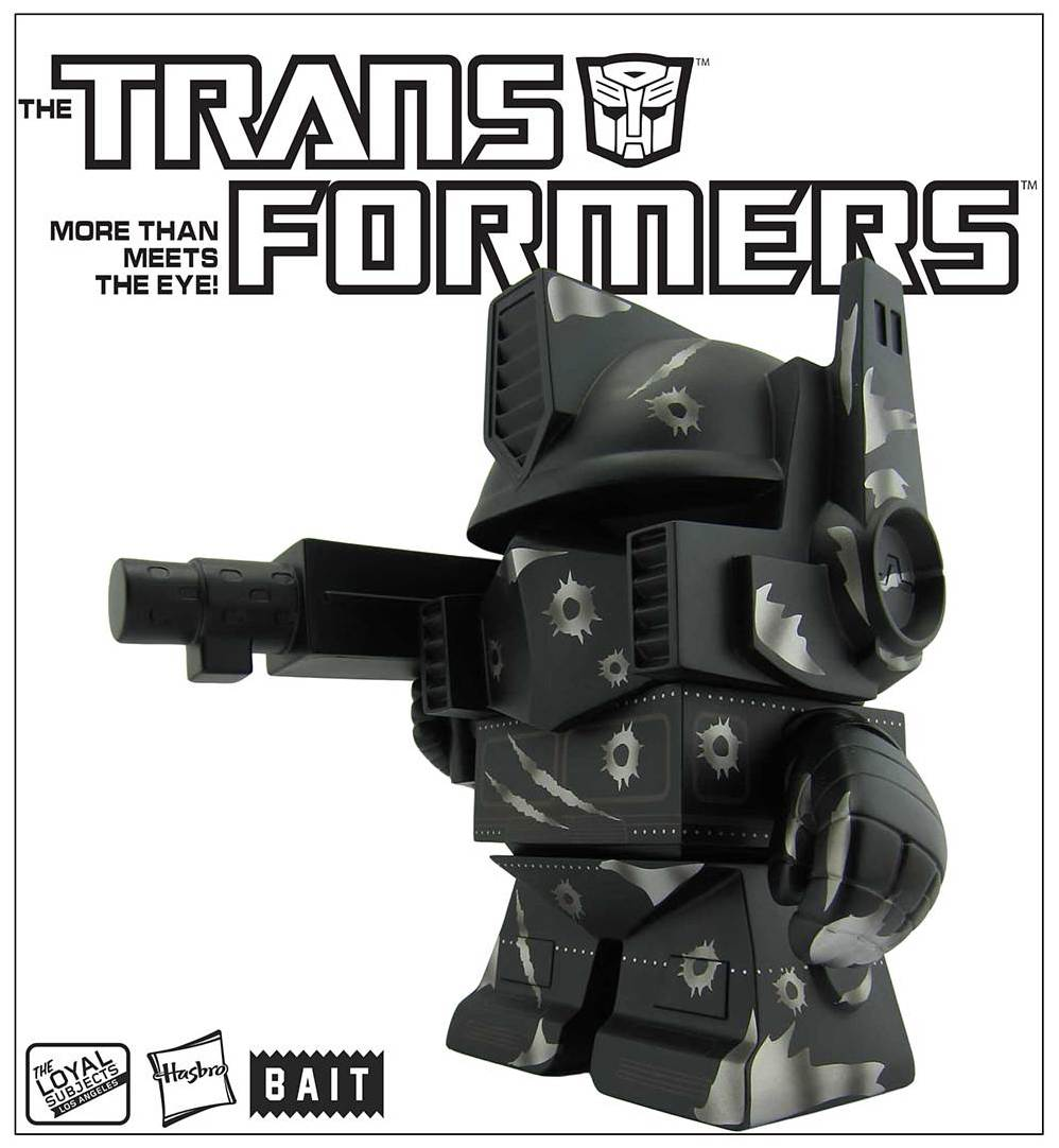 "The Loyal Subjects x Transformers Optimus Prime ""Silver Bullet"" – BAIT Exclusive ONLY @ SDCC"