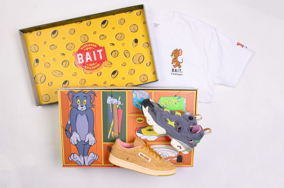 BAIT x Reebok x Tom & Jerry
