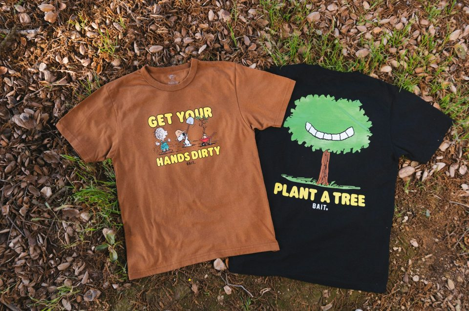BAIT Peanuts Earth Day Collection