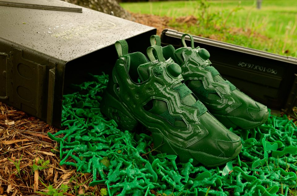 "BAIT x Disney and Pixar's Toy Story x Reebok Instapump Fury OG ""Army Men"""