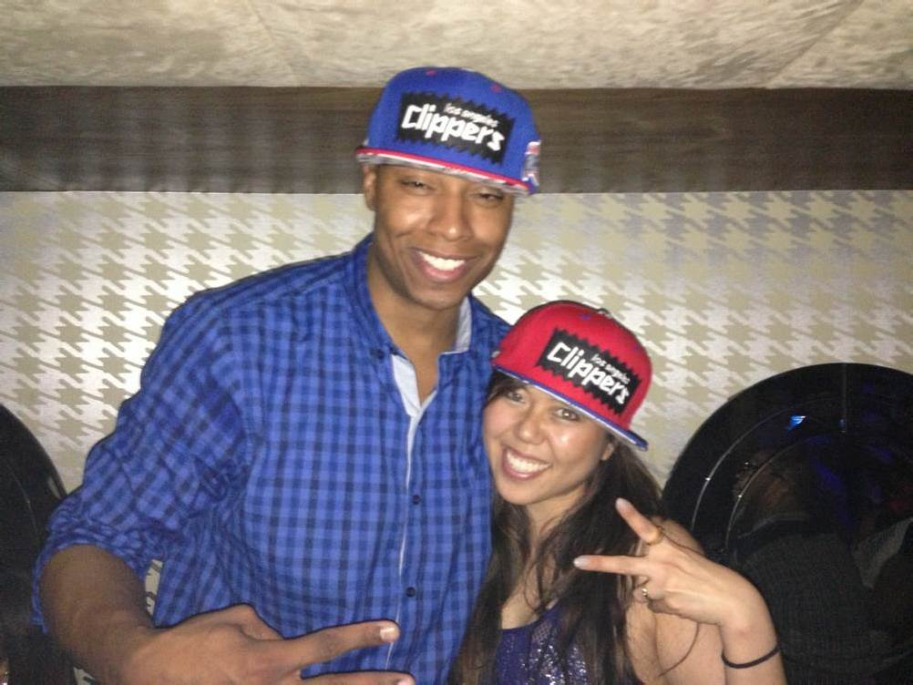 Caron Butler Sports the BAIT x Mitchell & Ness Snapback