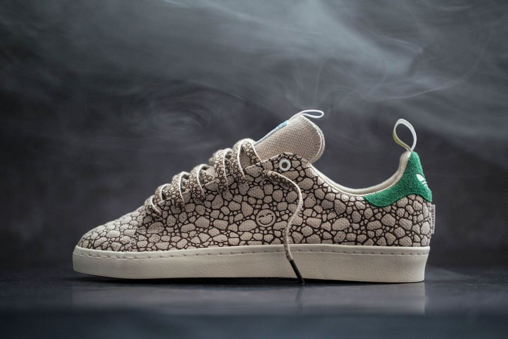"meet 557e9 ec321 BAIT x Adidas Skateboarding Stan Smith VULC ""Happy"" – BAIT"
