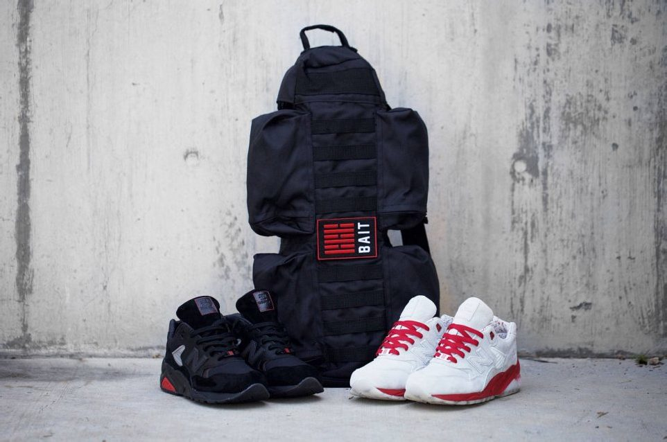 "BAIT X HASBRO's G.I. JOE X NEW BALANCE MT 580 ARASHIKAGE PACK – ""STORM SHADOW"" & ""SNAKE EYES"""