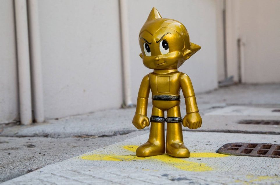 Bait San Diego Comic Con Exclusives 2015: Funko Hikari Astroboy Golden