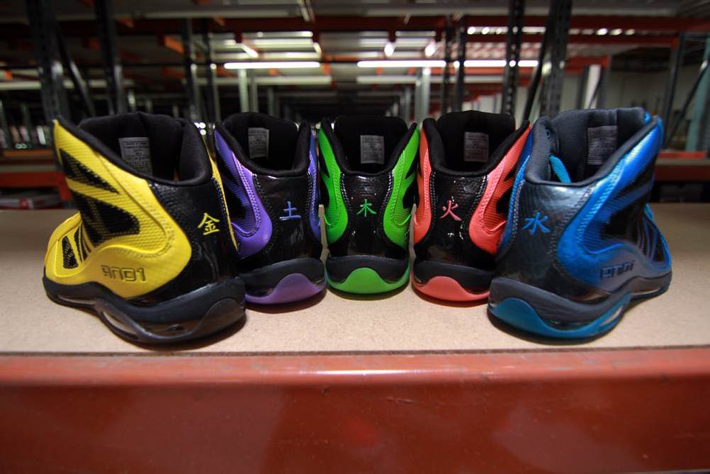"""And-1 Entourage Mid """"5 Elements"""" Pack"""