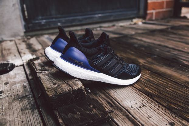adidas ULTRA BOOST – CORE BLACK + SOLAR RED