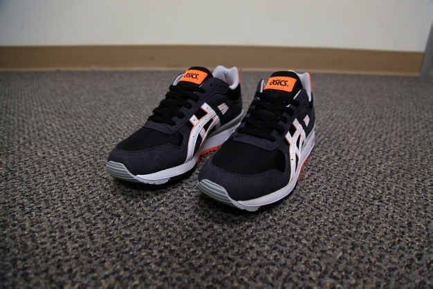 ASICS GT-II – BLACK/BRIGHT ORANGE