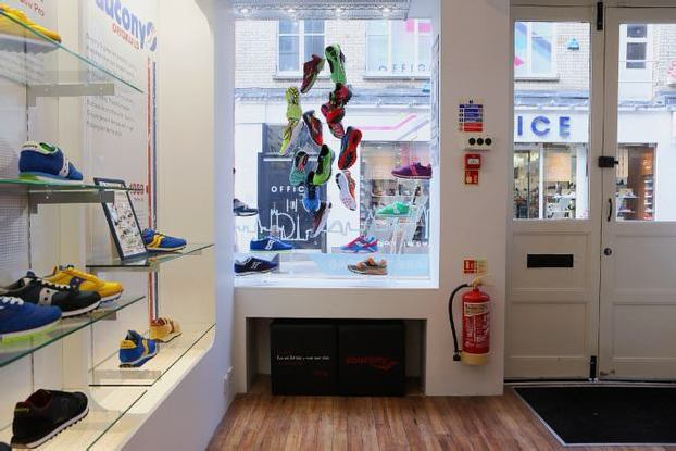 """SAUCONY """"STORY OF RUNNING"""" POP-UP SHOP – CRUELWORLD 2 UK LAUNCH"""