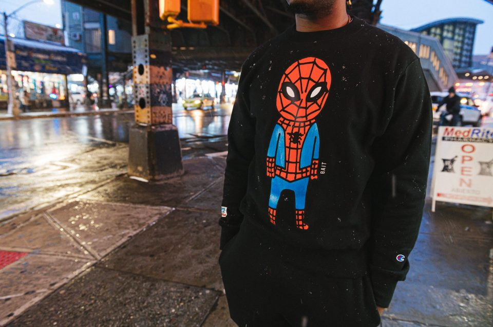 BAIT x Spiderman x Champion