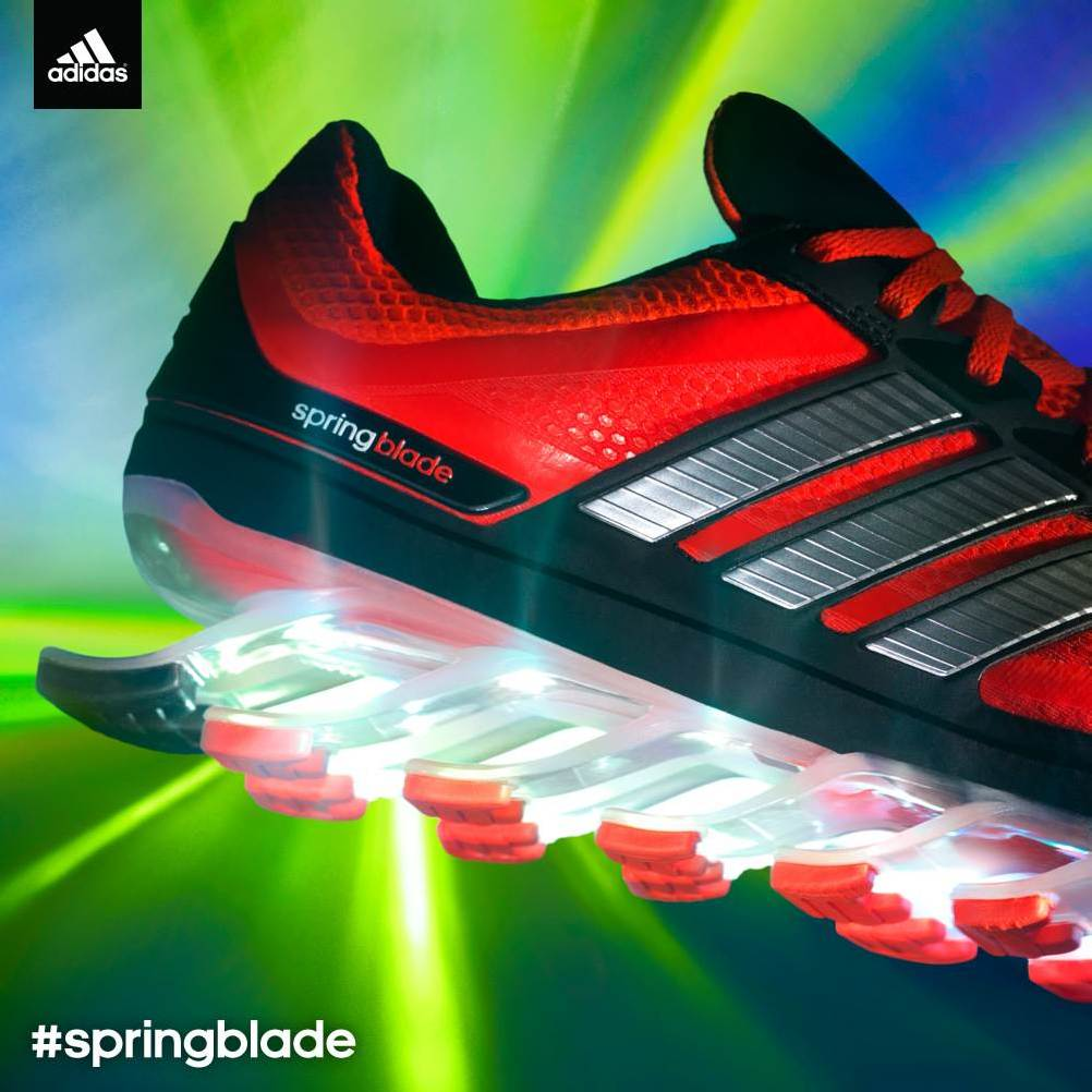 adidas Springblade Launches 8/1 – Teaser Video