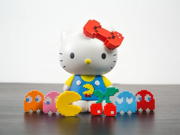 BAIT x Pacman x Hello Kitty Collectibles