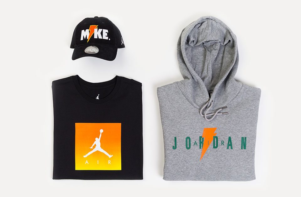 "Jordan x Gatorade ""LIKE MIKE"" Collection is now available online"