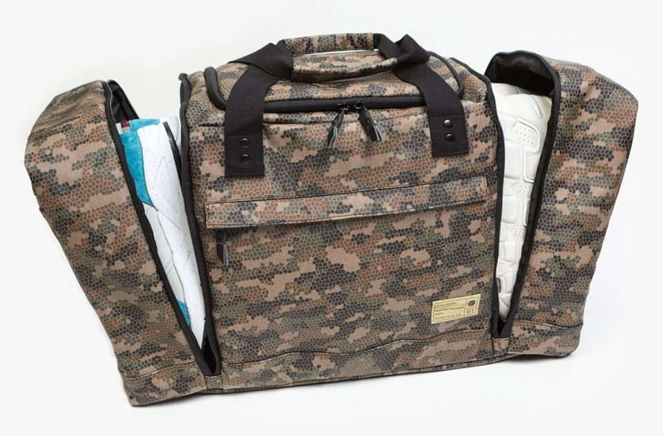 HEX Sneaker Duffel Bags Available at BAITMe.com and Stores