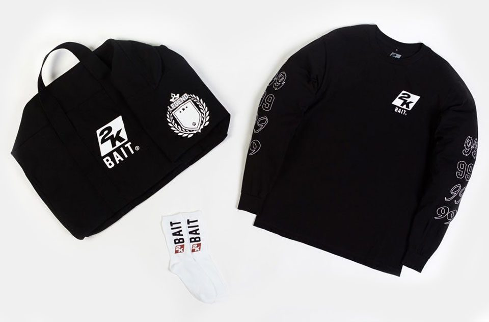 BAIT x NBA 2K Exclusive Capsule for Winners