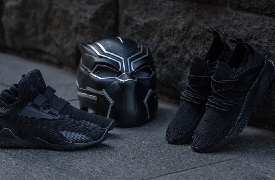 BAIT x Black Panther x Puma Tsugi BOG and Mostro Mid