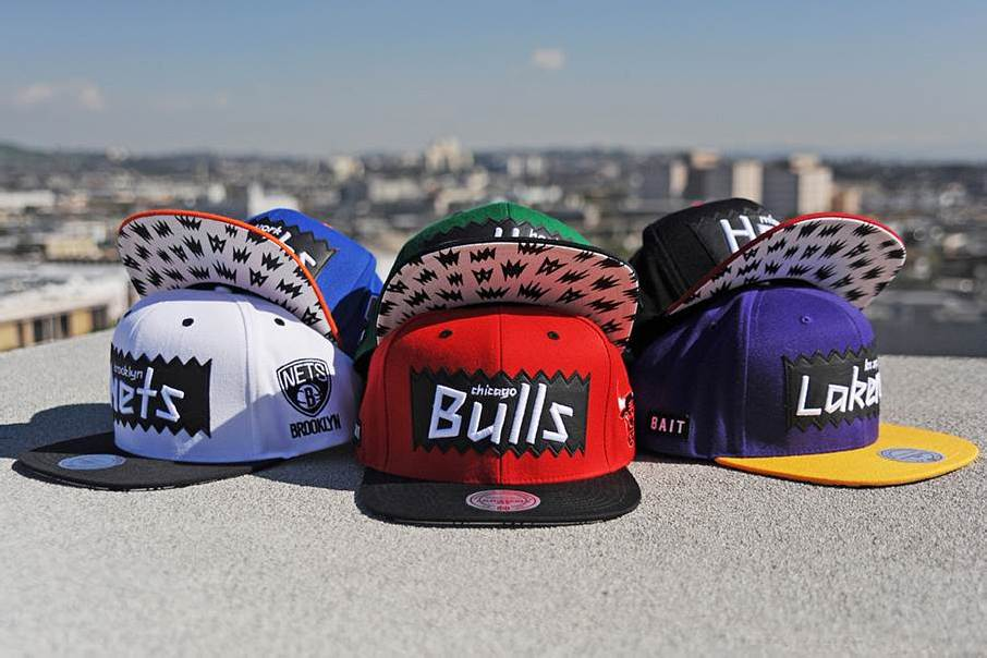 BAIT for NBA Mitchell and Ness Snapback Collection