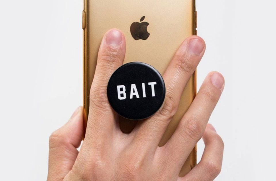 BAIT x Popsockets Have Arrived for Your Phone and Convenience