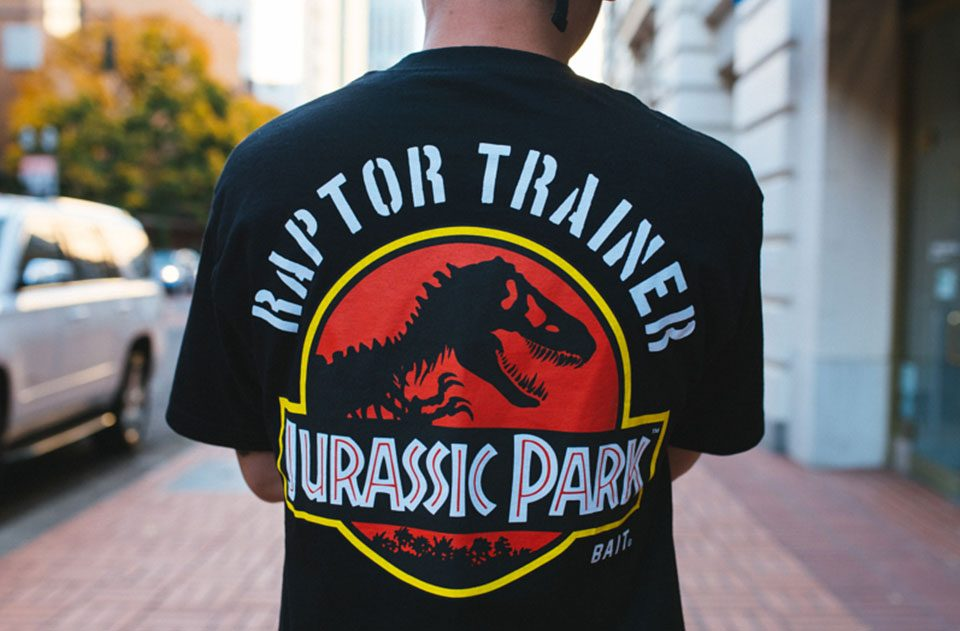 BAIT x Jurassic Park Tees have restocked and new Coaches Jackets