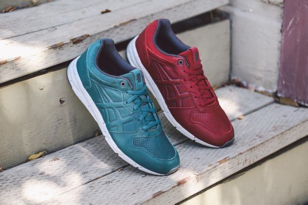 ONITSUKA TIGER SHAW RUNNER LUX – BURGUNDY + SHADED SPRUCE