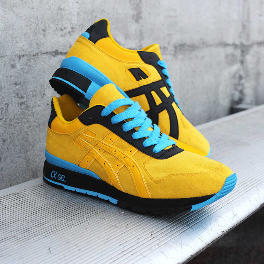 BAIT x Asics GT II – Rings Pack (yellow / blue / black)